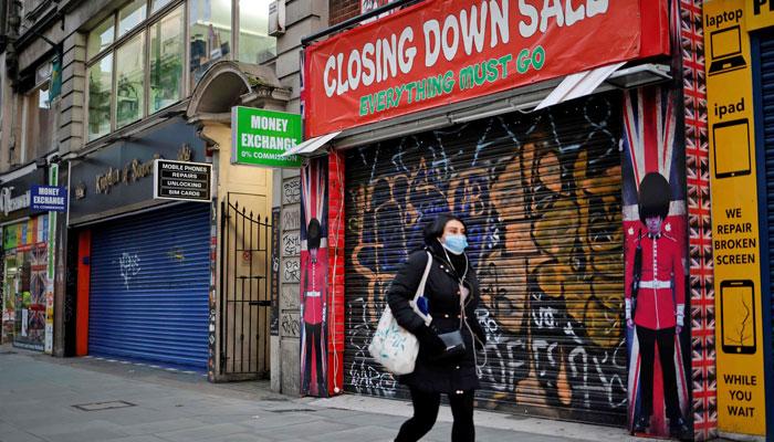 تیسرا لاک ڈاؤن، برطانیہ کی معیشت کو شدید نقصان، جی ڈی پی میں تقریباً 3  فیصد تک کمی ہوگئی