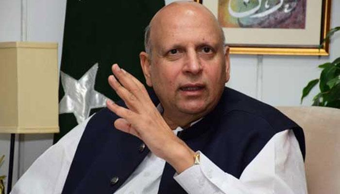وزیر اعلی پنجاب کیخلاف تحریک عدم اعتماد کا کوئی خطرہ نہیں، گورنر پنجاب