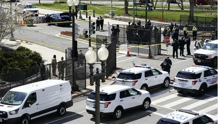 واشنگٹن،مشتبہ شخص نے گاڑی چڑھا دی،پولیس افسر ہلاک، اہلکار زخمی