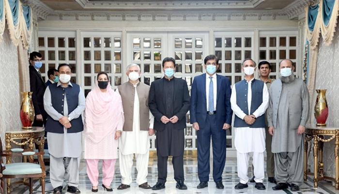 وزیراعظم سے چاروں وزراء اعلیٰ کی ملاقات'کورونا صورتحال پر تبادلہ خیال