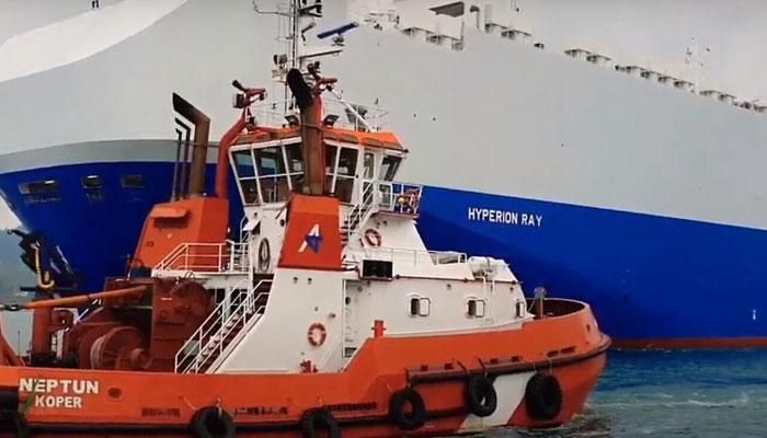 اسرائیل کے بحری جہاز پر اماراتی ساحل کے قریب حملہ