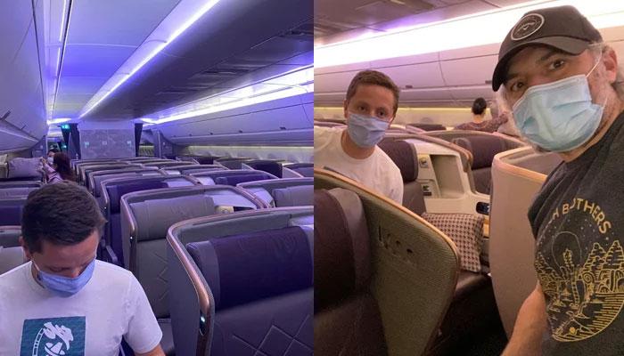 کورونا وائرس، دنیا کی طویل ترین پرواز میں صرف 11 مسافر عملے کے 13 ارکان