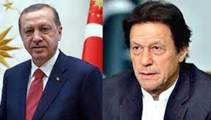 ترک صدرکا وزیراعظم عمران خان کو فون، امریکی انخلاء پر گفتگو
