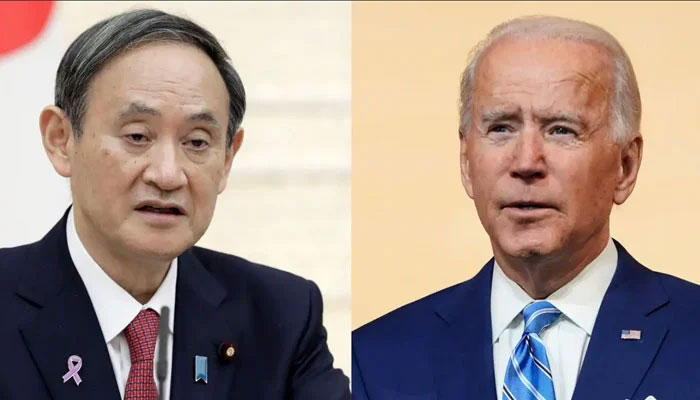 امریکی صدر اور جاپانی وزیراعظم کی ملاقات، چین کیخلاف اتحاد کا مظاہرہ