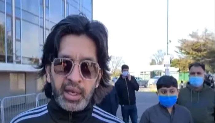 برطانیہ واپس پہنچنے والے پاکستانیوںکا نامناسب سہولتوںپر احتجاج