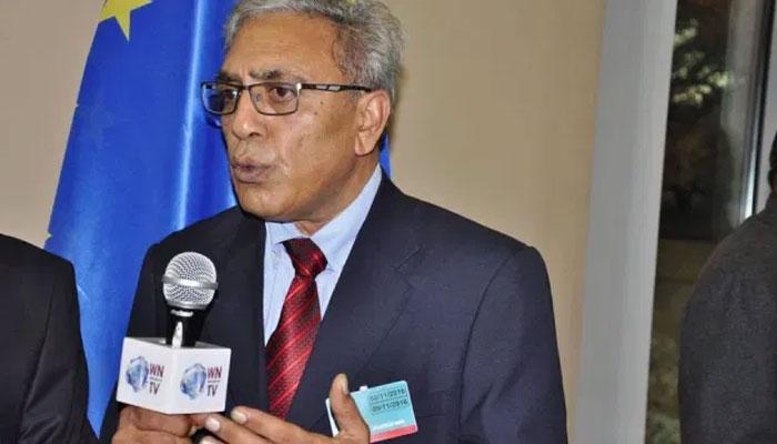 عالمی برادری مقبوضہ کشمیر میں انسانی حقوق کی خلاف ورزیوں کا نوٹس لے، علی رضا سید، برسلز میں مظاہرہ