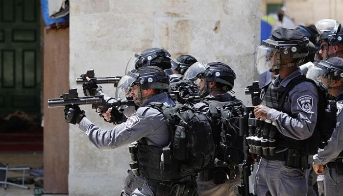 اسرائیلی پولیس کے ساتھ جھڑپوں میں 4 فلسطینی زخمی