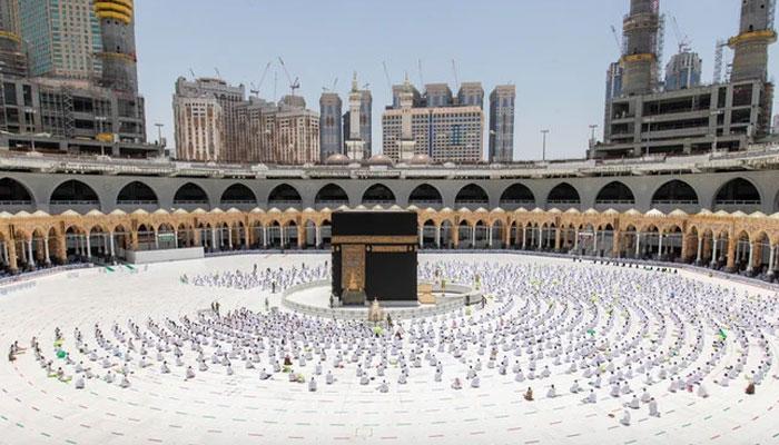 سعودی عرب، حرمین میں جمعۃالوداع، ہزاروں نمازی شریک