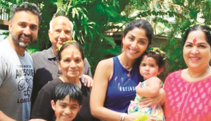 شلپا شیٹھی کا پورا خاندان عالمی وبا کورونا وائرس میں مبتلا