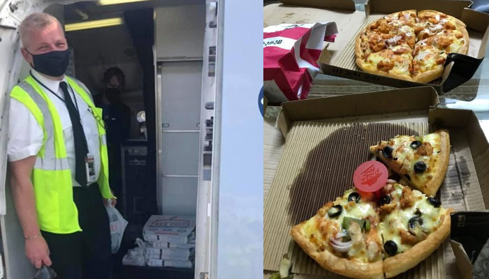 طوفان کے باعث پرواز کا رخ موڑنے پر امریکا میں کپتان کی مسافروں کیلئے پیزا پارٹی