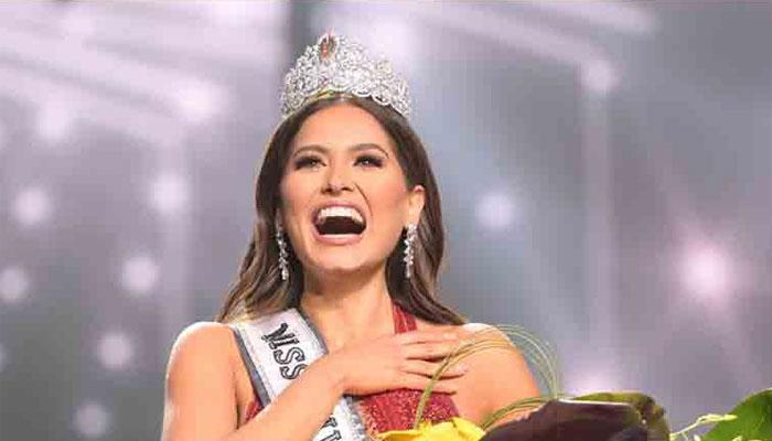 میکسیکو کی آندریا میزا نے مس یونیورس 2021 کا اعزاز اپنے نام کرلیا