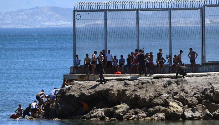 مراکش سے 100  تارکین وطن اسپین پہنچ گئے