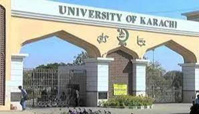سردار یاسین ملک اسکول کی عمارت فرنیچر کیساتھ جامعہ کراچی کے حوالے کرنے کی تقریب