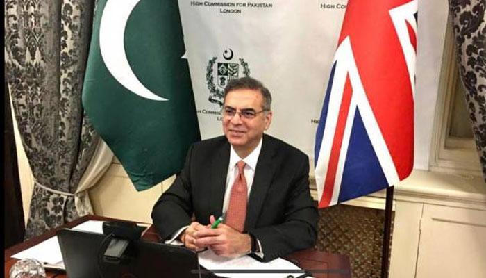 برطانوی سرمایہ کار پاکستان میں سبز سرمایہ کاری کے مواقع  سے فائدہ اٹھائیں، معظم احمد خان، ہائی کمیشن لندن میں ویبینار