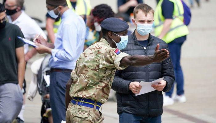 نارتھ ویسٹ انگلینڈ میں ڈیلٹا وائرس کی مختلف حالتوں میں اضافے سے نمٹنے کیلئے فوج تعینات