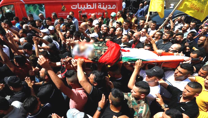 اسرائیلی فوج نے مغربی کنارے میں 3 فلسطینیوں کو شہید کردیا