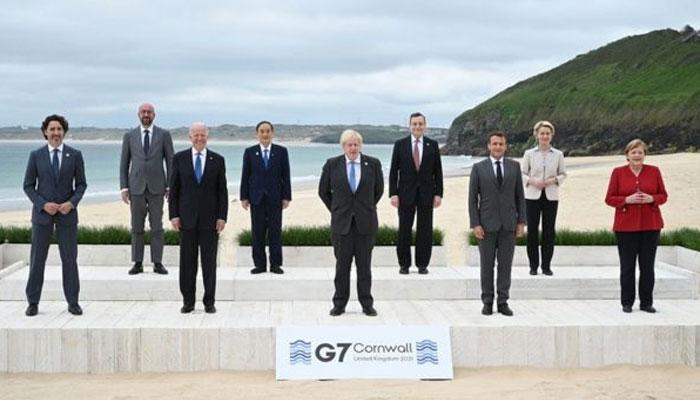 جی سیون اجلاس، ترقی پذیر ممالک میں 400 کھرب ڈالر سے انفرا سٹرکچر بنانے پر اتفاق