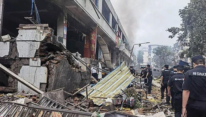 چین، گیس دھماکہ کے باعث 12 افراد ہلاک، متعدد زخمی