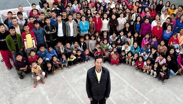 38 بیویاں اور 89بچے، دنیا کے سب سے بڑے خاندان کے سربراہ کا انتقال ہوگیا