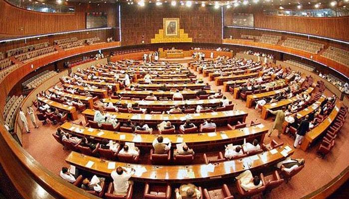 قومی اسمبلی سے منظور انتخابی قوانین کی سینیٹ سے منظوری کا مرحلہ باقی ہے