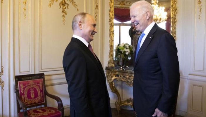 جنیوا میں امریکی و روسی صدور کی ملاقات، تعاون کا عزم، الزامات بھی لگائے