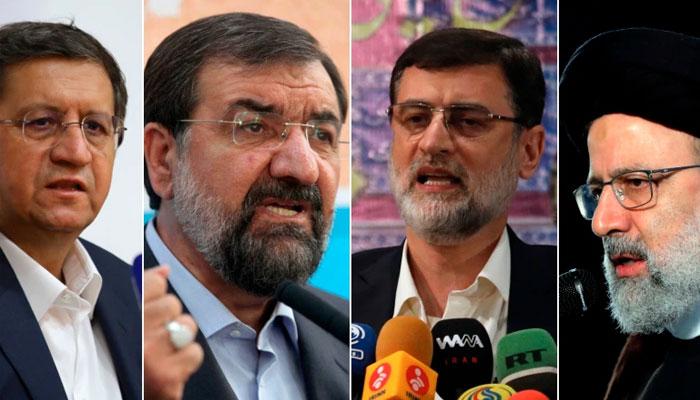 ایران میں صدارتی انتخابات آج، 4 امیدواروں کے درمیان مقابلہ