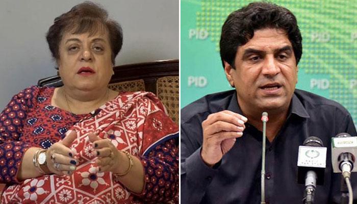 حکومتی پارلیمانی پارٹی اجلاس، شیریں مزاری اورعلی اعوان میں تلخ کلامی