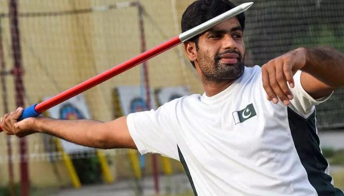 نیزہ پھینکنے والے پاکستانی کھلاڑی کی اولمپک تمغہ جیتنے کی امید