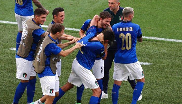 یورو کپ فٹبال: اٹلی اور سوئٹزرلینڈ کامیاب