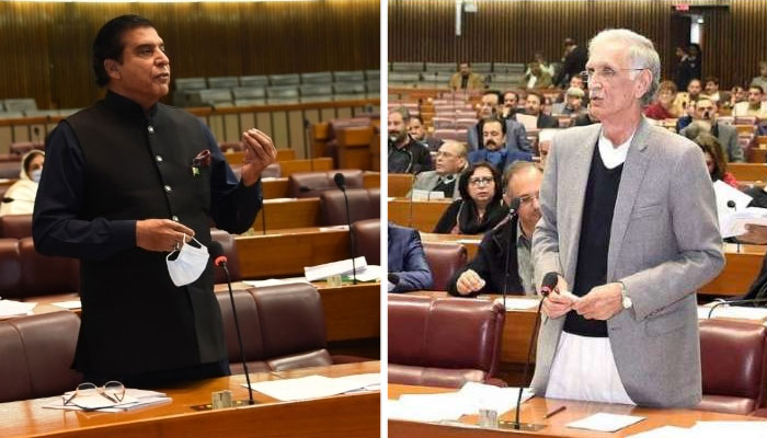 مہنگائی نے عوام کی کمر توڑ دی، پرویز اشرف، ترقی ہو تو مہنگائی بھی ہوتی ہے، پرویز خٹک
