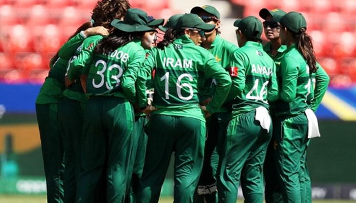 پاکستان خواتین کرکٹ ٹیم اینٹیگا پہنچ گئی