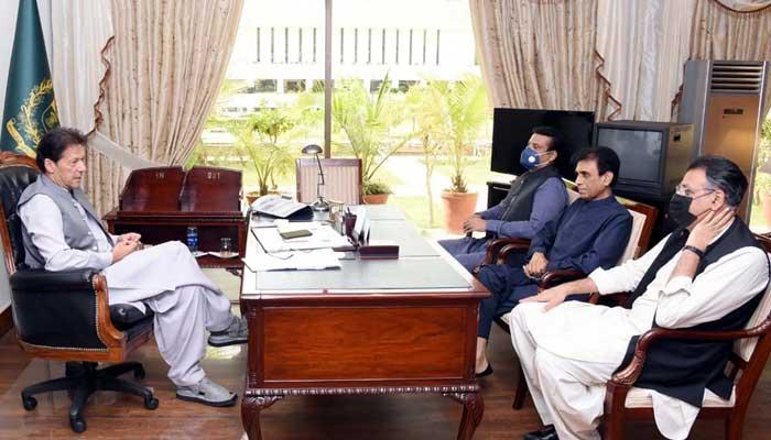 وزیر اعظم سے ایم کیو ایم وفد کی ملاقات، جولائی میں وزارت ملنے کی امید
