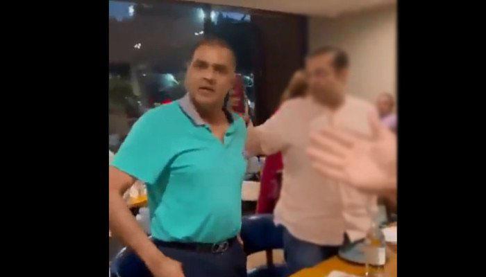 لندن، عابد شیر علی وائرل ویڈیو: ریستوران واقعہ کا ڈراپ سین