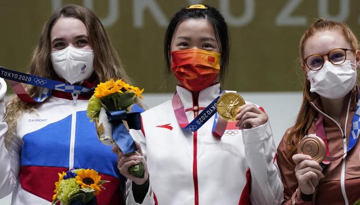 اولمپکس کا پہلا گولڈ میڈل چین کی شوٹر یانگ کییان  نے جیتا