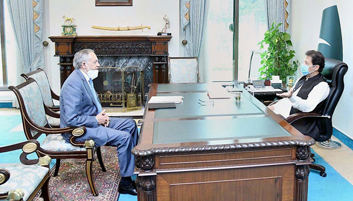مشیر تجارت کی ازبکستان کے دورے کے بعد وزیراعظم سے ملاقات