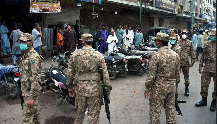 کراچی، کورونا شرح 26 فیصد، شہریوں کو شام 6 بجے کے بعد گھر سے نہ نکلنے کی ہدایت