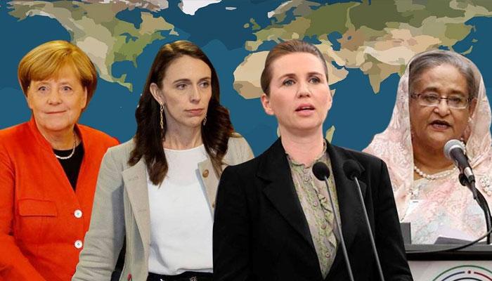 24ممالک میں خواتین سربراہ مملکت یا ان کی حکومت ہے
