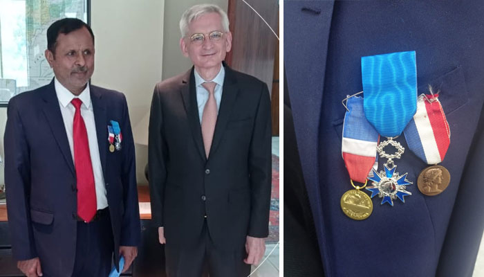 فرانسیسی سفارتخانے کے پاکستانی پریس اتاشی کیلئے اعلیٰ سول ایوارڈ