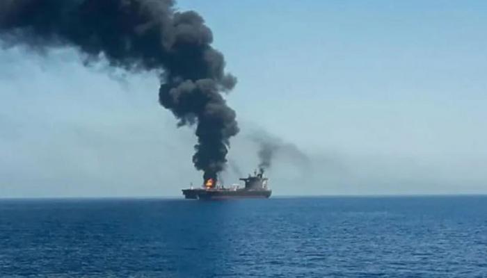 ایران نے بحری جہاز پر حملے کے اسرائیلی الزامات مسترد کردیئے