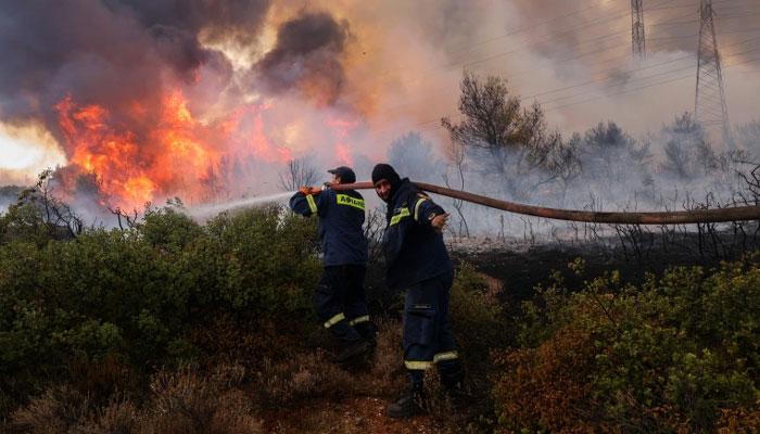 یونان کو 30 سال کی بدترین ہیٹ ویو کا سامنا، شہریوں کو گھر سے نہ نکلنے کی ہدایت