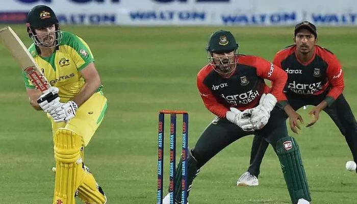 ٹی 20: بنگلہ دیش کیخلاف آسٹریلیا کو مسلسل دوسری شکست