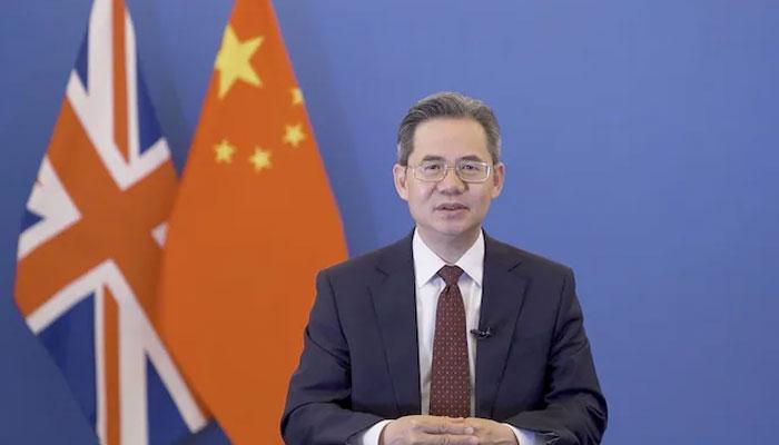 برطانوی پارلیمنٹ نے چینی سفیر پر پابندی لگادی