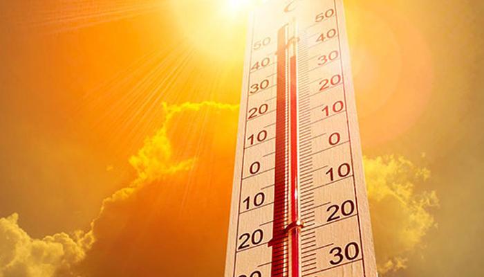 ماحولیاتی تبدیلی، 50 سینٹی گریڈ درجہ حرارت والے دن دگنے ہوگئے