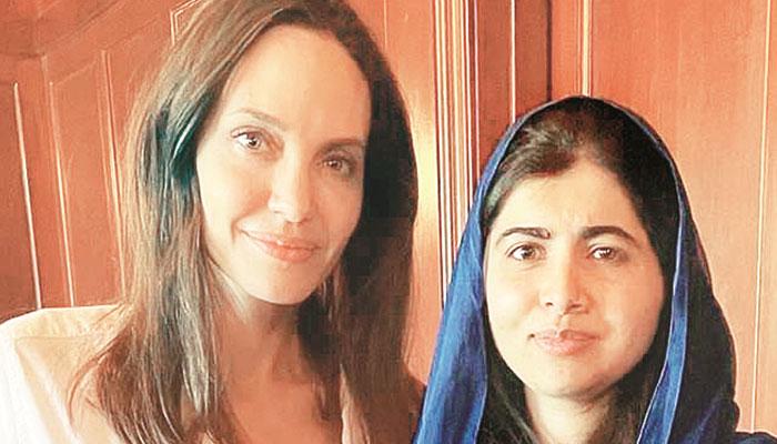 ملالہ یوسفزئی کی بچوں کے حقوق پر مبنی کتاب لکھنے پر انجلینا جولی کی تعریف