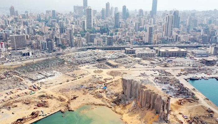 بیروت بندر گاہ پر چھاپہ، 20 ٹن امونیم نائٹریٹ کیمیکل برآمد