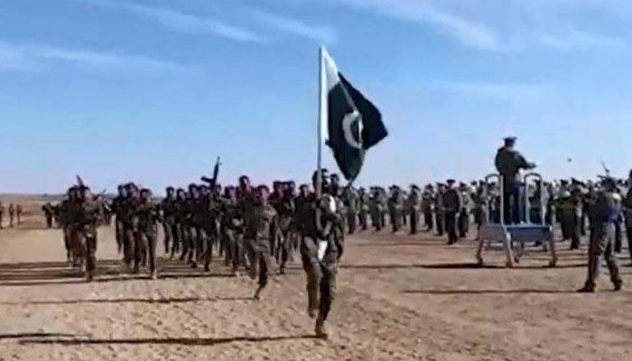 پاکستان اور چین کی مشترکہ انسداد دہشتگردی مشقیں