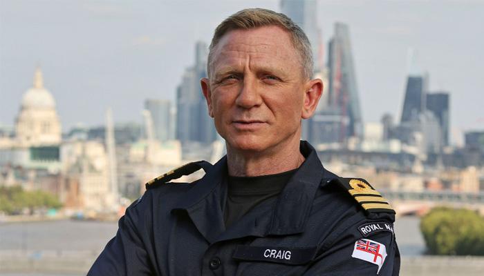 ڈینیئل کریگ کی برطانوی رائل نیوی میں بطور اعزازی کمانڈر تقرری