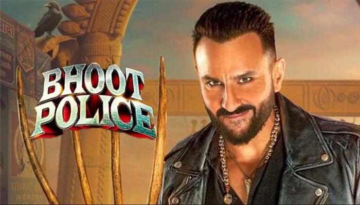 سیف علی خان فلم 'بھوت پولیس' کی کامیابی کا جشن منا رہے ہیں