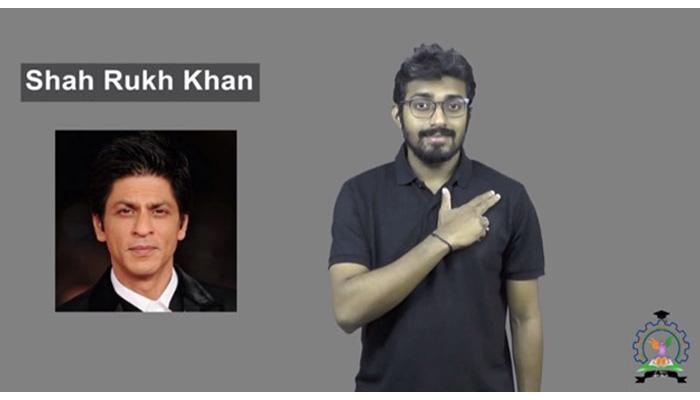 شاہ رخ خان کو بھارتی اشاروں کی زبان کی لغت میں شامل کرلیا گیا