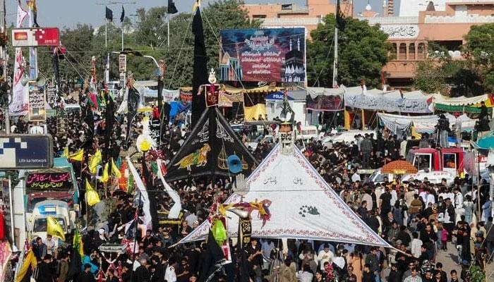 چہلم کے مرکزی جلوس میں کورونا ایس او پیز پر سختی سے عملدرآمد کا فیصلہ